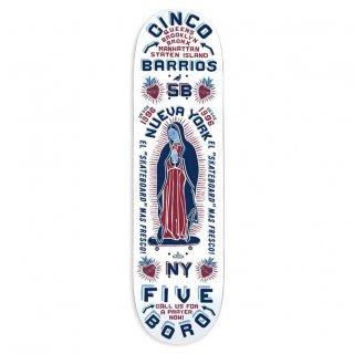 5BORO - CINCO BARRIOS WHITE - 8.5