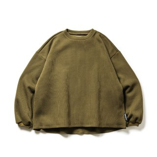 TIGHTBOOTH - WAFFLE CREW KNIT