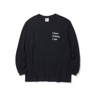 Chaos Fishing Club - CONGRATS L/S TEE - BLACK