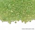 半円パール 1.5mm〜5mmMIX ライトグリーン