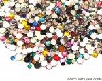 高品質ダイヤカットストーン サイズ&カラーMIX