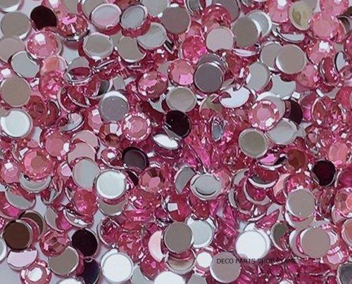 高品質ダイヤカットストーン ピンク