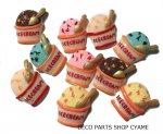 【デコパーツ10個】 カップアイスクリームMIX