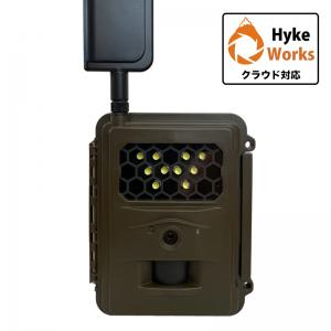 ハイクカム CL4G 白色LED搭載クラウド対応 IoT自動撮影カメラ