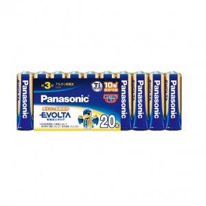 Panasonic EVOLTA 単3形アルカリ乾電池 20本パック