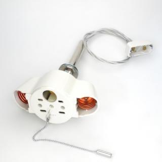 2灯用ペンダント器具透明コード