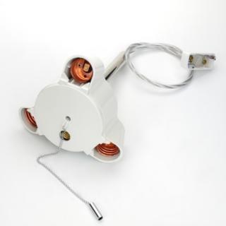 3灯用ペンダント器具透明コード