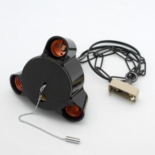 3灯用ペンダント器具チェーン付コード