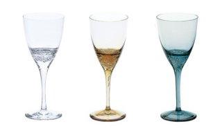 スガハラガラス sugahara<br> 深海から沸き起こる泡/バブル ワイングラス<br>