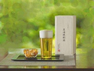 うすはりタンブラーL&柿ピー小鉢セット<br>松徳硝子