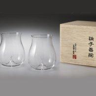 うすはりグラス 大吟醸<br>松徳硝子