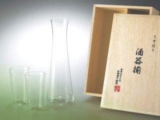 松徳硝子 うすはりグラス<br> 酒器揃<br>