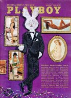 PLAYBOY [プレイボーイ] 1968/1 holiday anniversary issue