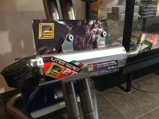 Fresco サイレンサー 250/300 2T エンデューロ用