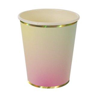【Meri Meri メリメリ】ペーパーカップ オンブル 8個入り Toot Sweet Ombre Cups