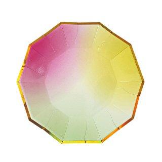 【Meri Meri メリメリ】ペーパープレート オンブル 8枚入り Toot Sweet Ombre Small Plate