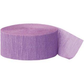 【amscan アムスキャン】クレープストリーマー パープル 紫色