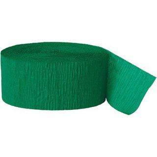 【amscan アムスキャン】クレープストリーマー グリーン 緑色