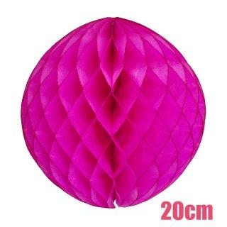 【SALE セール】ハニカムボール ホットピンク 20cm【4個までメール便可】