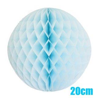 【SALE セール】ハニカムボール ライトブルー 20cm【4個までメール便可】