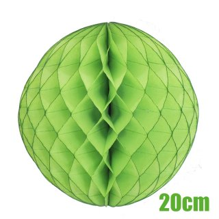 【SALE セール】ハニカムボール ライトグリーン 20cm【4個までメール便可】