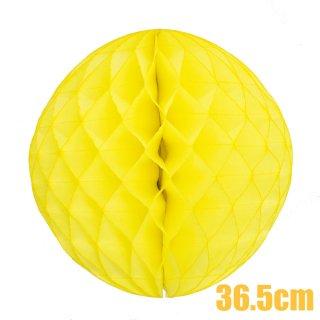 【SALE セール】ハニカムボール イエロー 36.5cm