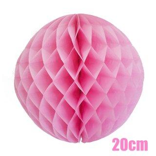 【SALE セール】ハニカムボール ピンク 20cm【4個までメール便可】