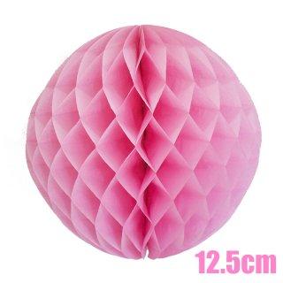 【SALE セール】ハニカムボール ピンク 12.5cm【8個までメール便可】