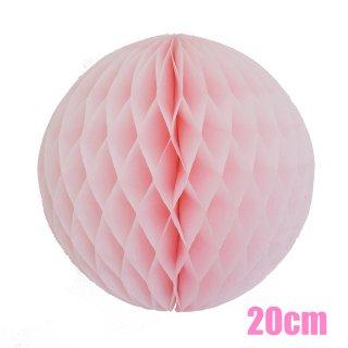 【SALE セール】ハニカムボール ライトピンク 20cm【4個までメール便可】