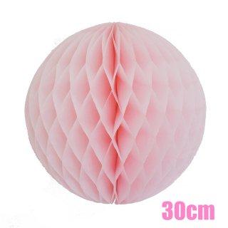 【SALE セール】ハニカムボール ライトピンク 30cm【2個までメール便可】
