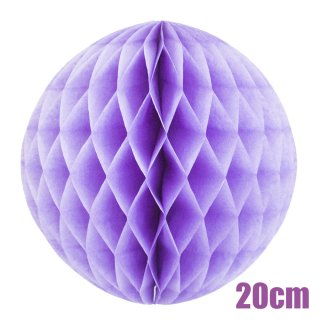【SALE セール】ハニカムボール ラベンダー 20cm【4個までメール便可】