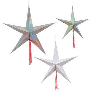 【Meri Meri メリメリ】スターデコレーションズ|Star Decorations
