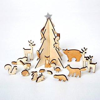 【SALE セール】  【Meri Meri メリメリ】森の動物アドベントカレンダー|Woodland Advent Calendar