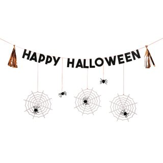 【Meri Meri メリメリ】ハロウィンスパイダーガーランド|Halloween Spider Party Garland