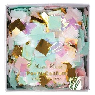 【SALEセール】【Meri Meri メリメリ】オーロラカラーコンフェッティボックス|Boxed Iridescent Confetti