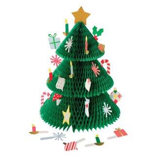 【SALE セール】  【Meri Meri メリメリ】クリスマスツリーアドベントカレンダー|Honeycomb Tree Advent Calendar
