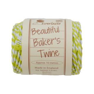【Beautiful Baker's Twine】 コットン紐(よりひも・コード) スプリンググリーン 10m