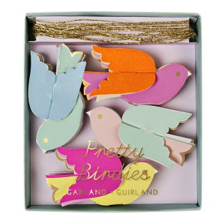 【Meri Meri メリメリ】ミニガーランド プリティバード PRETTY BIRDIES MINI GARLAND 【4個までメール便可】
