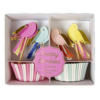 【Meri Meri メリメリ】カップケーキキット プリティバード Pretty Birdies Cupcake Kit