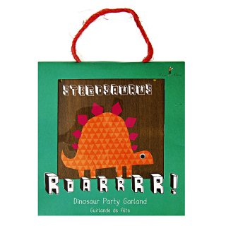 【Meri Meri メリメリ】ペーパーパーティハット ダイナソー 恐竜 8枚入り Roarrrr! Party Hats