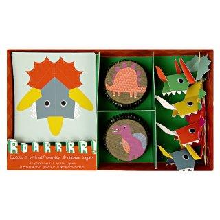 【Meri Meri メリメリ】カップケーキキット ダイナソー恐竜 Dinosaur Cupcake Kit