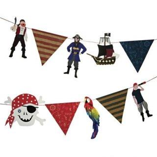 【Meri Meri メリメリ】ガーランド パイレーツ海賊 Ahoy There Pirate Garland