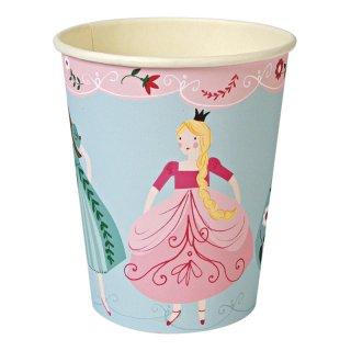 【Meri Meri メリメリ】ペーパーカップ プリンセス 12個入り I'm a Princess Party Cup