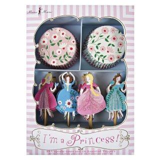 【Meri Meri メリメリ】カップケーキキット プリンセス I'm a Princess Cupcake Kit