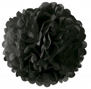 フラワーポム ブラック 黒 35cm 【2個までメール便可】