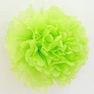 フラワーポム アップルグリーン 35cm 【2個までメール便可】
