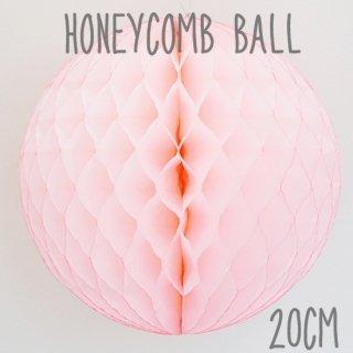 ハニカムボール ライトピンク 20cm