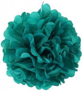 フラワーポム ティーグリーン 青緑色 35cm 【2個までメール便可】