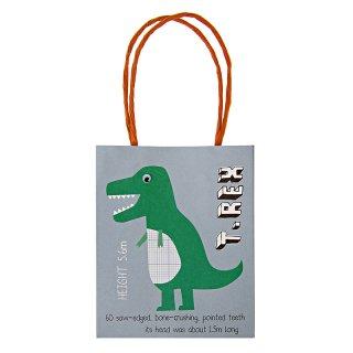 【SALE セール】 【Meri Meri メリメリ】ペーパーバッグ ダイナソー恐竜 Roarrrr! Party Bag