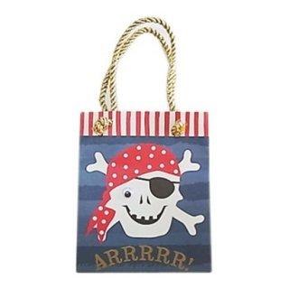 【SALE セール】 【Meri Meri メリメリ】ペーパーバッグ パイレーツ海賊 Ahoy There Pirate Party Bag